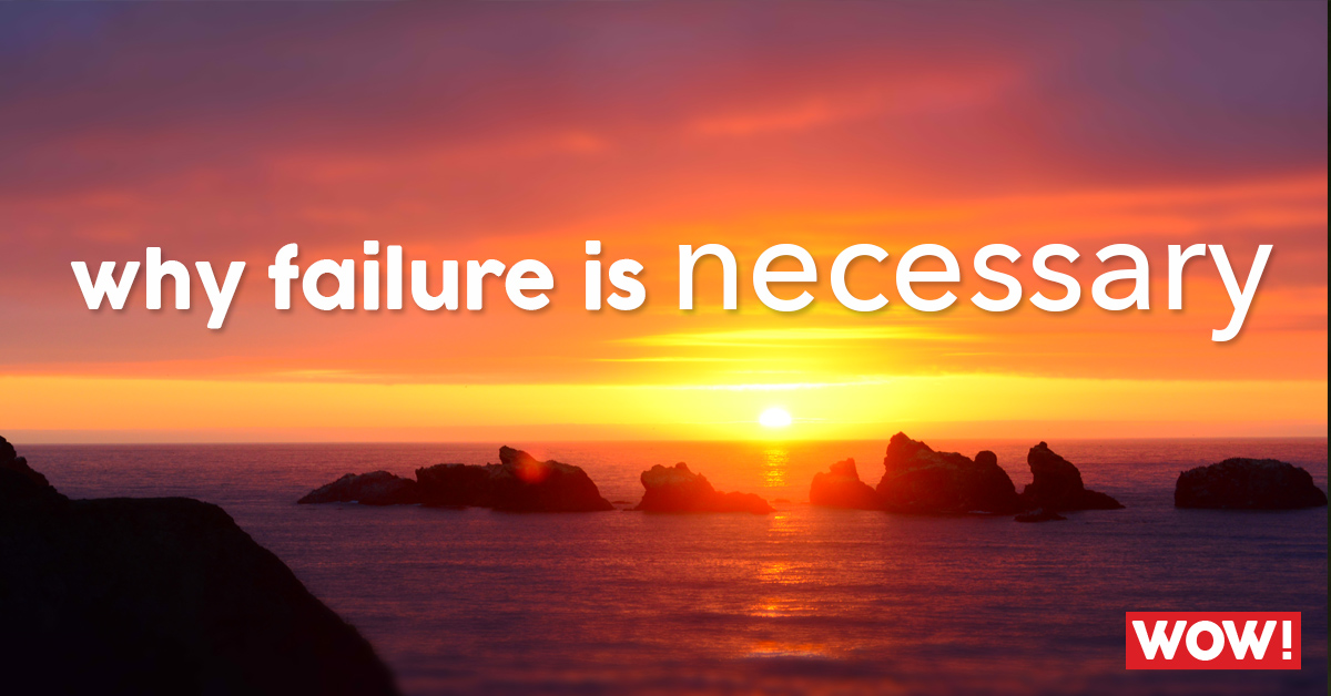 #inthezone 39: Why failure is necessary!