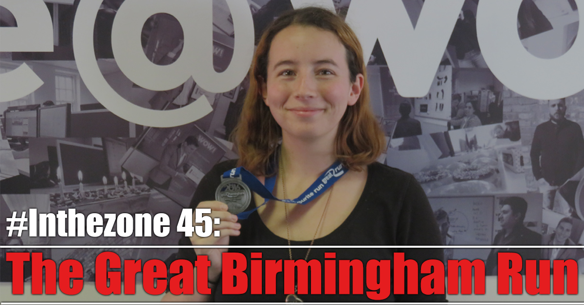 The Great Birmingham Run - #inthezone 45