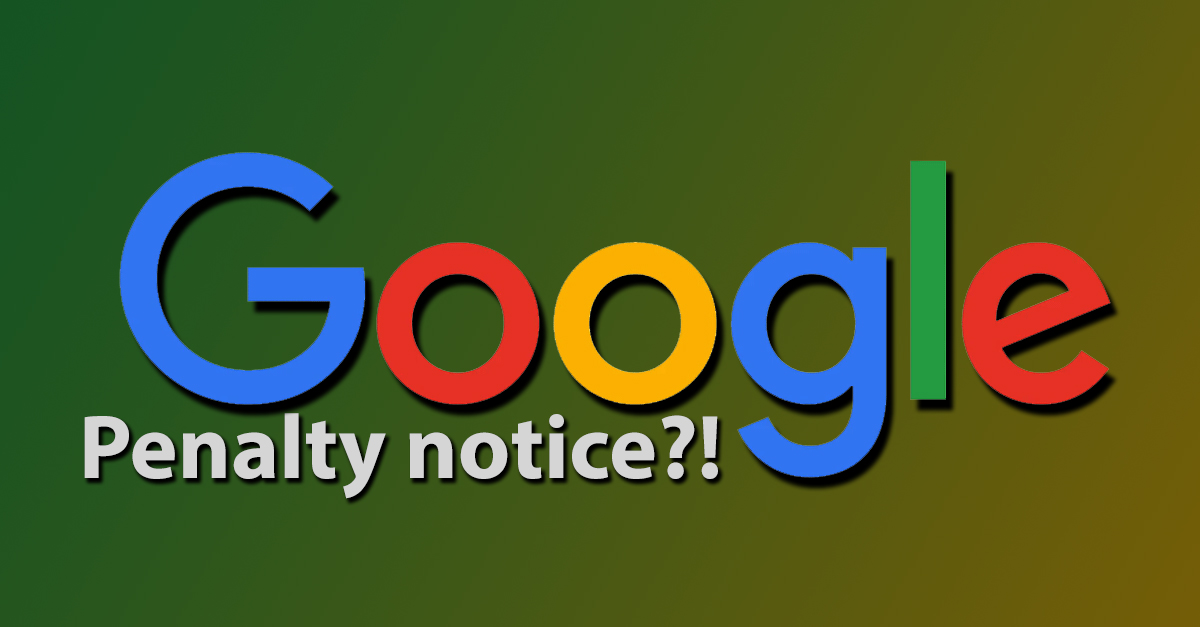 Google are penalising websites with intrusive interstitials