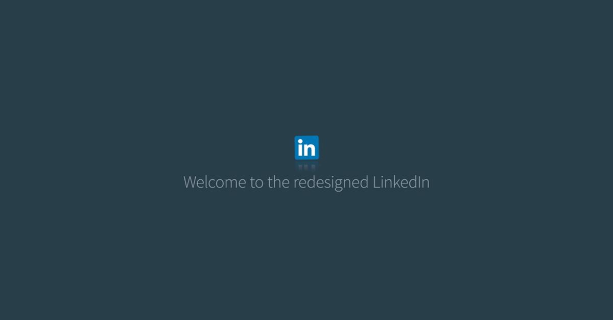 LinkedIn Desktop Update