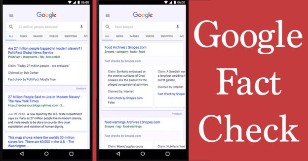 Google Fact Check Tackles Fake News