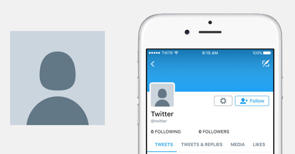 Twitter combats trolls with new profile picture