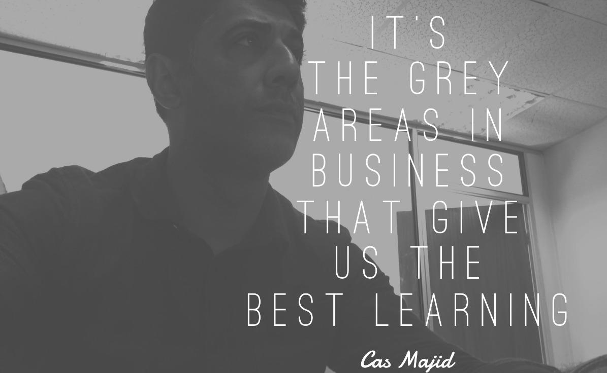 Qasim Majid On Greya Areas in Business