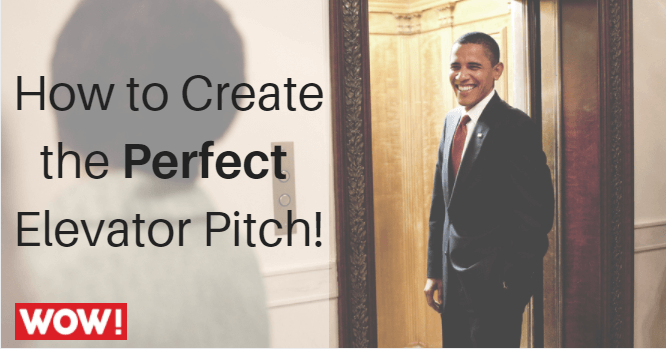 How to Create the Perfect Elevator Pitch!